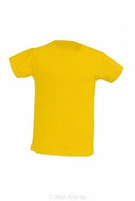 T-Shirt Koszulka dziecięca Żółta XL