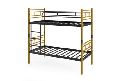 кровать КРОВАТЬ металлические AGNES LUNAR желтые 80 см