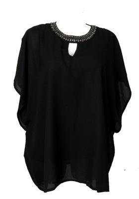 Elegancka bluzeczka z koralikami 38/40 NOWA