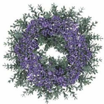 ВЕНОК Декоративный декор искусственные цветы 24cm