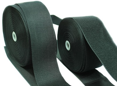 лента липучка МИШКА + КРЮЧОК ШИРИНА 100мм Черный комплект
