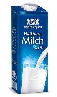 Innowacyjne mleko 3,5% UHT jak ŚWIEŻE, DE