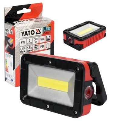 REFLEKTOR PRZENOŚNY COB LED 5W 300LM YATO YT-81819