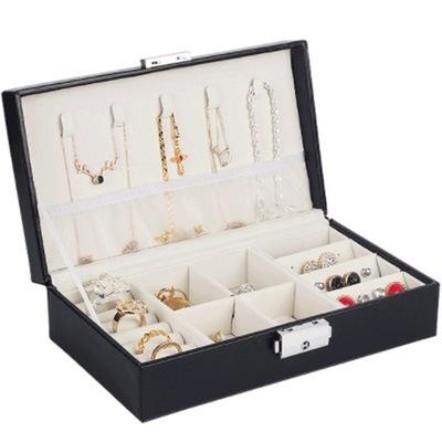Szkatułka na biżuterię ORGANIZER pojemny stylowy