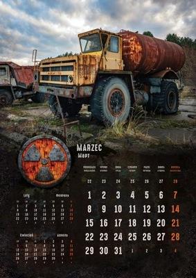 Kalendarz CZARNOBYL 2021