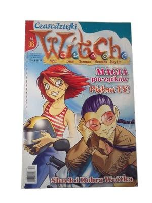 W.I.T.C.H. CZARODZIEJKI nr 36 2004 r.