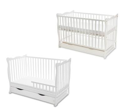 Кроватка детское ЮЛИЯ с функцией ДИВАНА софа