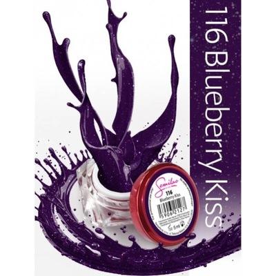 Semilac UV żel kolorowy 116 Blueberry Kiss 5ml