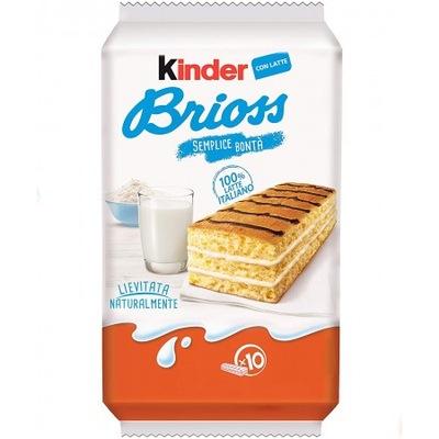 KINDER BRIOSS - молочные БУТЕРБРОДЫ