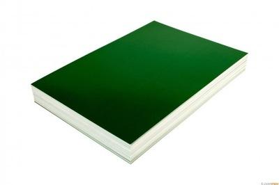 Karton okładki do bindowania A4 100ark zielone