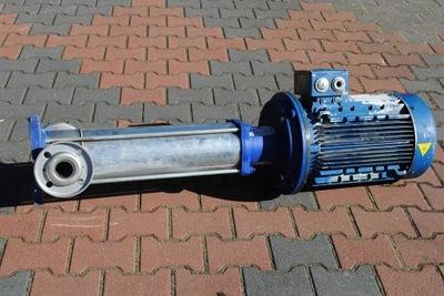 Pompa do wody kwasoodporna z silnikiem 11kw.