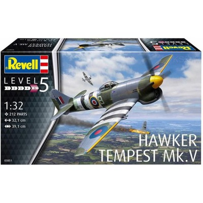 REVELL 03851 - Samolot Hawker Tempest V 1/32