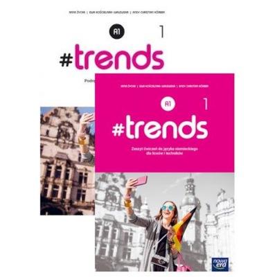 Pakiet #trends 1 Podr i ćw język niemiecki LO