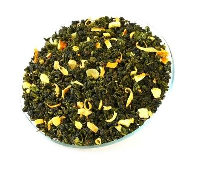 Herbata Turkusowa OOLONG MANGO POMARAŃCZA (100g)