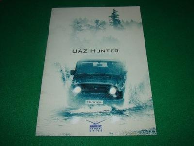 UAZ HUNTER prospekt reklamowy