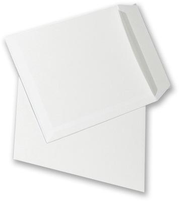 Koperta standardowa C4 z paskiem HK 50szt biały