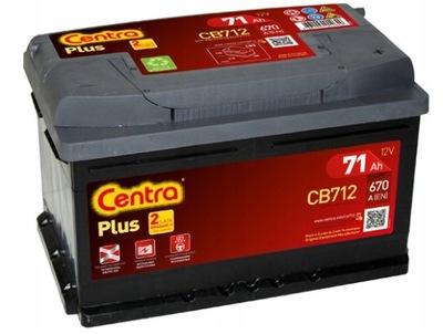 Centra Plus 71Ah 670A CB712