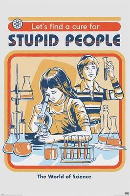 Liek Na Hlúpi Ľudia Steven Rhodos plagát 61x91