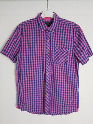 RESERVED_męska koszula bawełniana w kratę_L