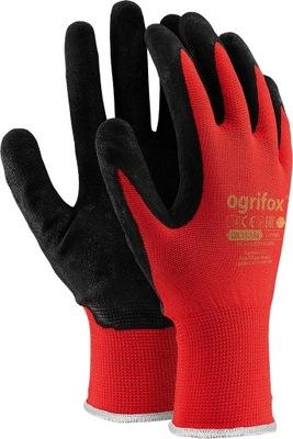 перчатки перчатки рабочие с покрытием латексом r10