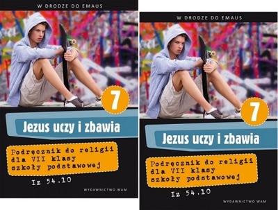 JEZUS UCZY I ZBAWIA klasa 7 podręcznik + ćwiczenia