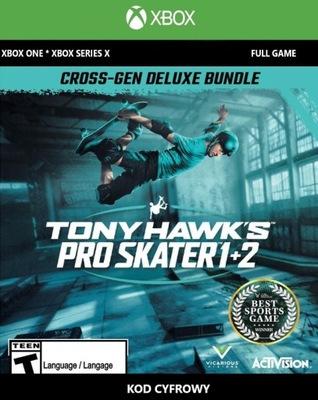 TONY HAWK'S PRO SKATER 1+2 - DELUXE / XBOX / KOD