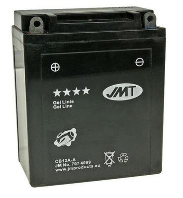 AKUMULATOR ŻELOWY JMT YB12A-A HONDA CB_400_450_550