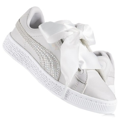 Buty dziecięce Puma Basket Heart Sparkle 369857 01