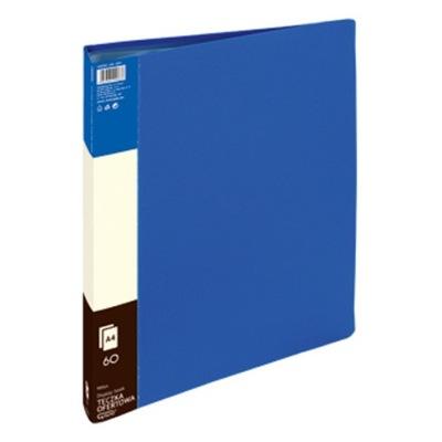 Teczka ofertowa z koszulkami A4/60 ALBUM niebieska