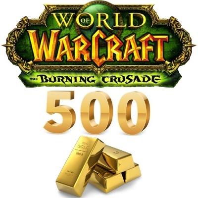 500g GOLD FIREMAW Horda/Ally WoW TBC Classic EU