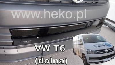 ЗАЩИТА ЗИМНЯЯ VW TRANSPORTER T6 2015-2019 НИЖНЯЯ ЧАСТЬ