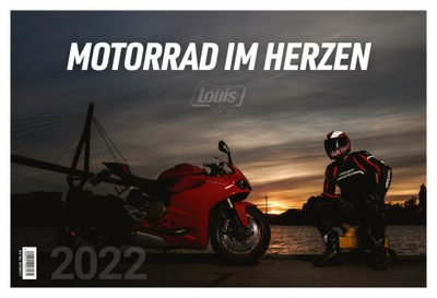 LOUIS KALENDARZ SCIENNY 2022 GRANDE FORMAT 495X33 MM