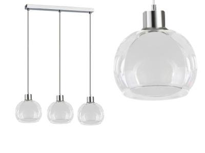 LAMPA SUFITOWA ŻYRANDOL NAD STÓŁ DUO II 7-202 LED