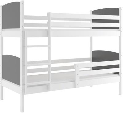 Łóżko piętrowe dla dzieci + Stelaż + Materace