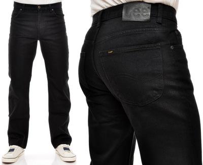 LEE spodnie BLACK jeans BROOKLYN COMFORT W36 L32