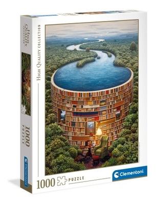 Puzzle 1000 elementów Bibliodame 39603 Clementoni