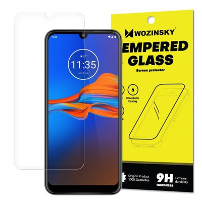 Szkło Hartowane do Motorola Moto E6 PLUS Szybka 9H