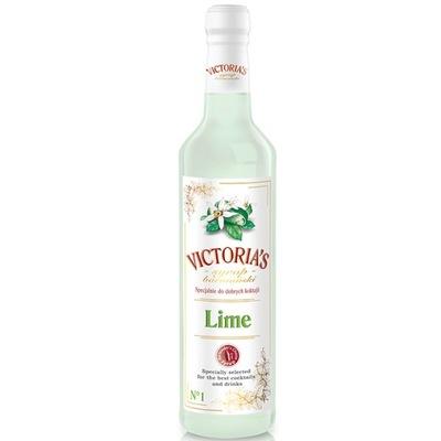SYROP BARMAŃSKI VICTORIA'S DO DRINKÓW LIME