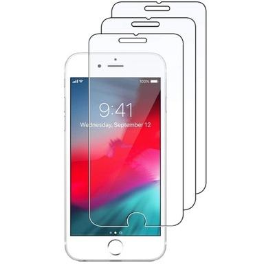 SZKŁO do IPHONE 6 6s 7 8 SE 2020 zestaw 3 sztuki