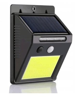 солнечная лампа С ДАТЧИКОМ СУМЕРЕК движения 48 LED