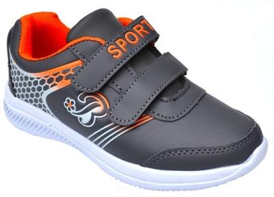 Buty sportowe trzewiki ADIDASY rzepy R-31-19,5cm