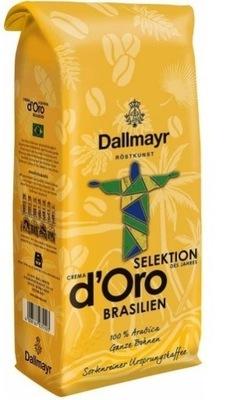 кофе Dallmayr Brasilien 1 кг Арабика Brasil