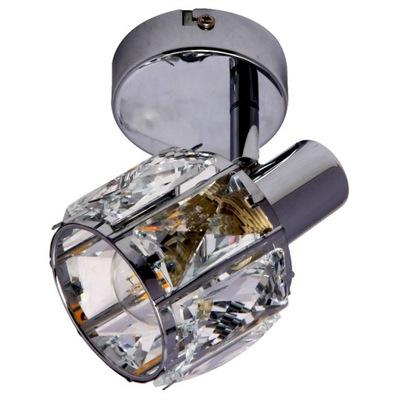 BODOVÉ stropné nástenné svietidlo sconce CRYSTAL CHROME