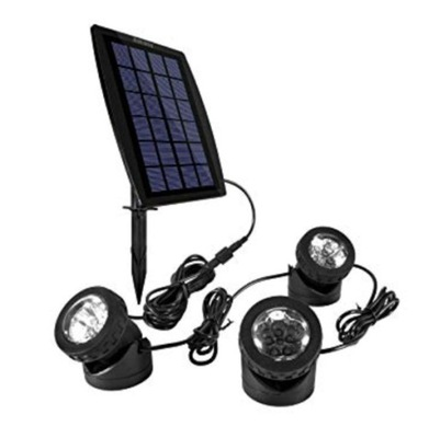 Solárne lampy triple pozornosti