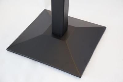 Podstawa żeliwna postument noga stołu kwadrat GŁ