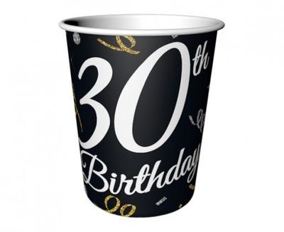 KUBECZKI na 30 urodziny trzydziestkę 220ml 6 sztuk