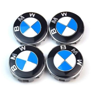 BMW 56MM КОМПЛЕКТ KAPSLE КОЛПАЧКИ 4 ШТУКИ. НОВЫЕ