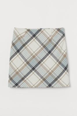 H&M Krótka spódnica z wełną rozm.34,XS