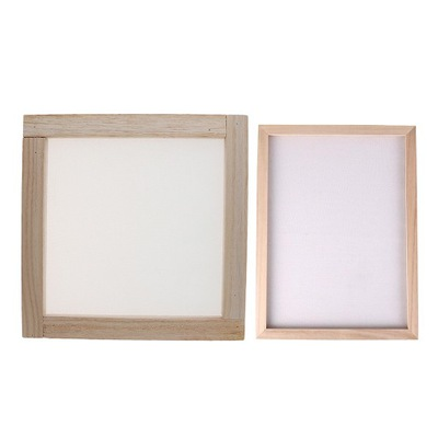 Ekran ramki do produkcji papieru DIY - 20x20 CM