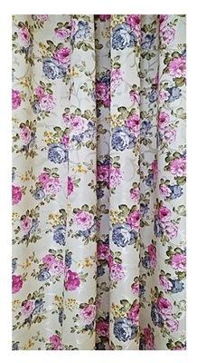 ШТОРЫ Ткань шторы Декоративная цветы 150см